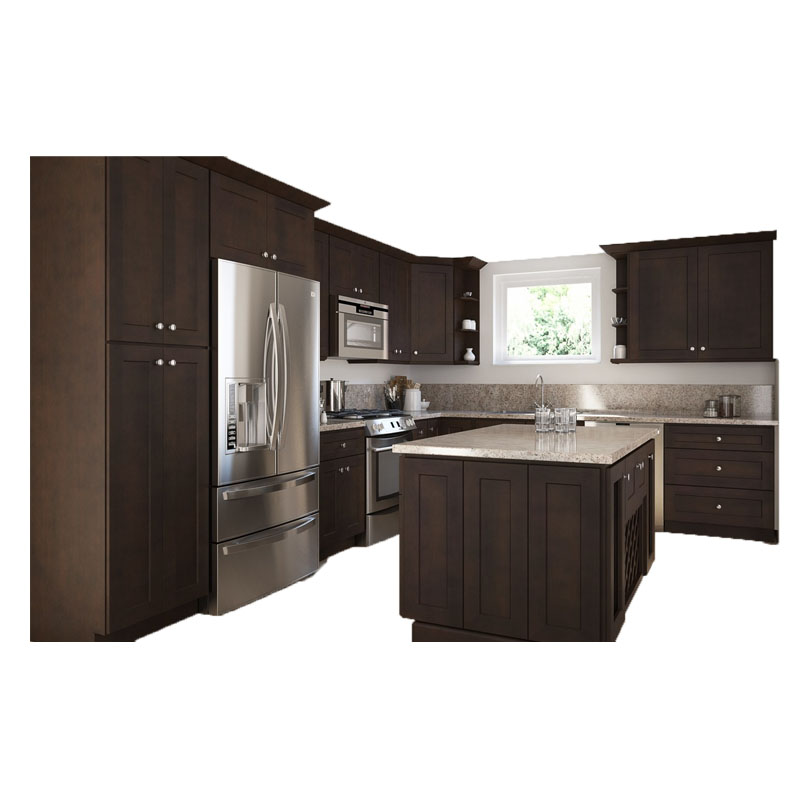 Tanzania Project L-shaped Kitchen Cabinets Factory Made In China Home Furniture
