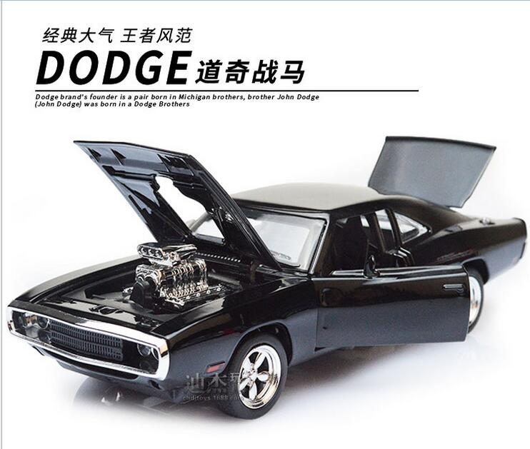 1 32 The Fast And The Furious Dodge Charger Alloy Car Models kids toys for children