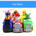Hot 2017 Kid Car Toys Puppy Patrol Dog Action Figure Patrulla Canina Toys Anime With Vehicle Car Spain Patrol Canine TY102 NEW