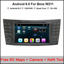 7 pulgadas de navegación GPS Del Coche reproductor de DVD Para Mercedes Benz W211 G class E200 E220 E240 E270 E280 CLS350 CLS Class W219 W463 E280