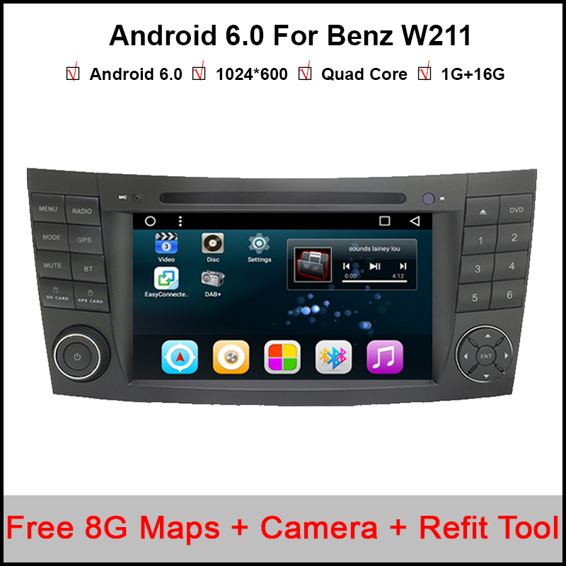 7 inch GPS navigation Car DVD player For Mercedes Benz W211 E G class CLS Class E280 CLS350 W463 W219 E200 E220 E240 E270 E280