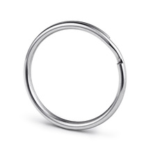 Split Key Rings 100pcs 25mm Nickel Plated Steel keyring Llaveros Para Llaves Keyring For DIY Accessories Wholesale