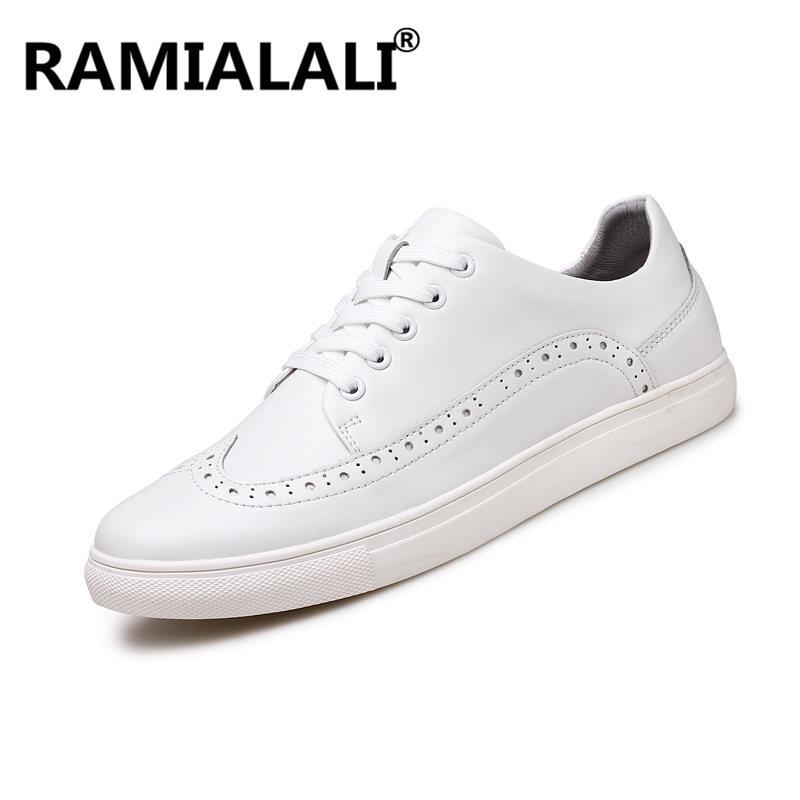 Zapatos Noir Sneakers Casual Respirant 48 Véritable blanc Hommes Chaussures Confortable Qualité En Plus Haute 38 Taille Hombre Para Cuir wxAqSnWvTg