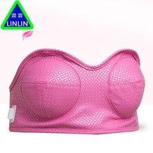 LINLIN أداة تدليك التهاب الثدي وتكبير الثدي. مدلك الصدر الكهربائي متعدد الوظائف