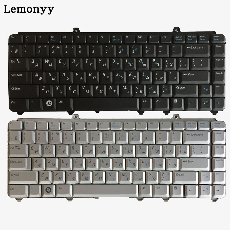 Russian laptop Keyboard For Dell inspiron 1400 1520 1521 1525 1526 1540 1545 1420 1500 XPS M1330 M1530 NK750 PP29L M1550 RU бордюр navarti daino royal versalles crema 5 5х33