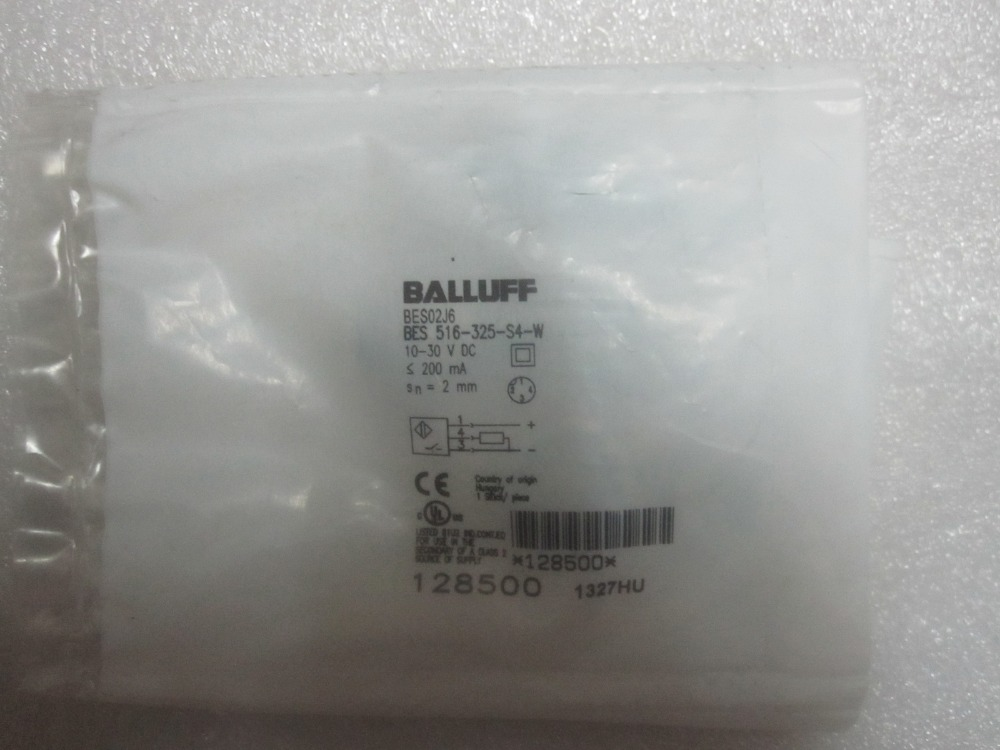 Brand new genuine High precision BALLUFF proximity switch BES 516-325-S4-W free shipping 1pcs brand new proximity inductor bes 516 118 bo c 05 for all year warranty