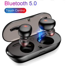 T2C TWS Mini Bluetooth 5.0 Earphones Wireless Earbuds Waterproof With Mic Charging Box Stereo