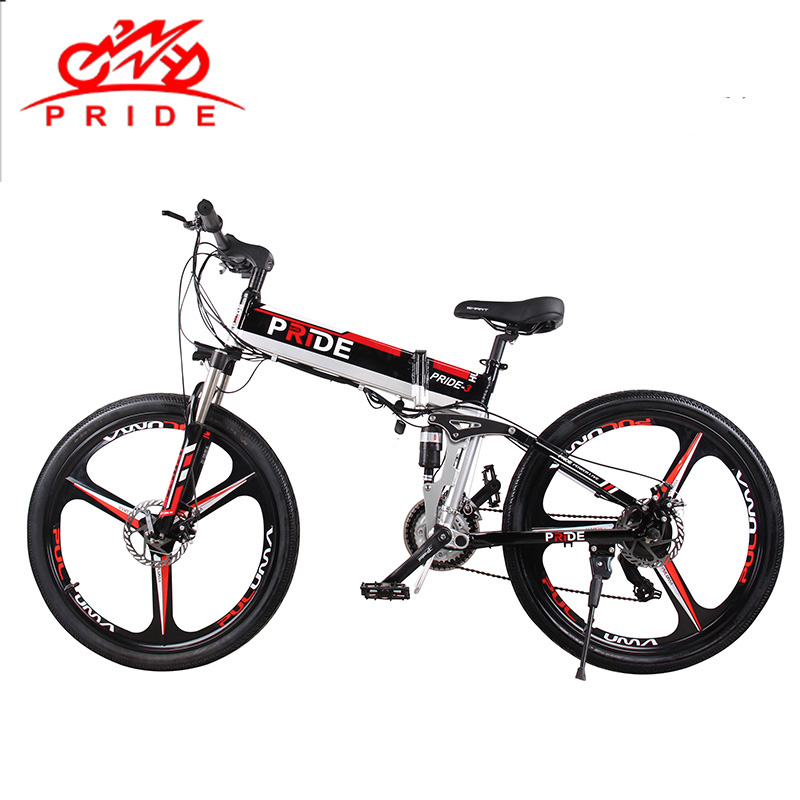 Pride Electric bike 26Aluminum Folding electric Bicycle 500W Mottor 48V12.5A Battery 21 Speed Snow Power Mountain Beach bike new 48v 500w samsung lithium battery electric bicycle 10an large capacity 27 speed shimano 26 x4 0 electric snow bike