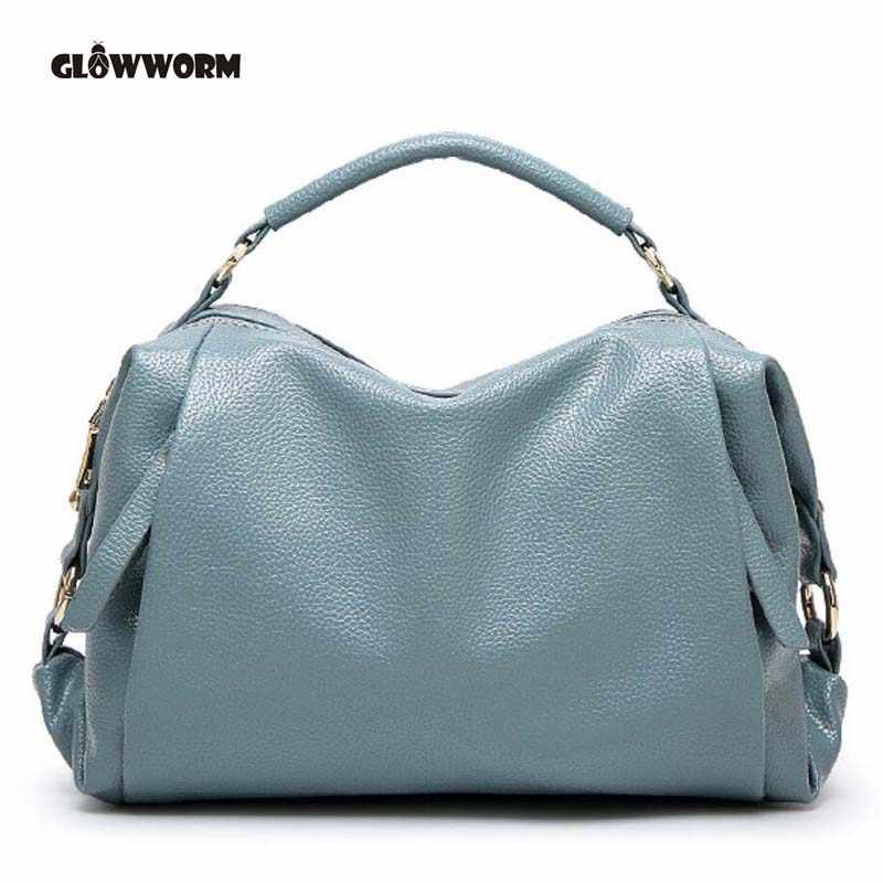 c35419c24fa1 Светлячок бренд искусственная кожа сумка женская мода цвет синий, черный;  Большие размеры 34–