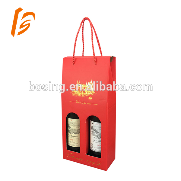 Hot Sales Take Away Market Display Box For Wine