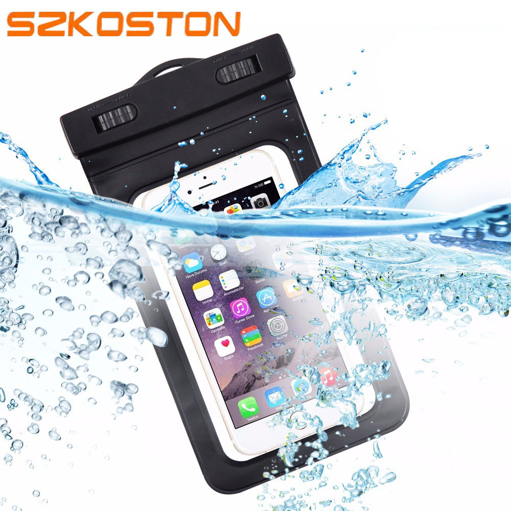 Universal Waterproof Bags Underwater Phone Case For iPhone5s 6s 7 /Samsung Galaxy J5 S7/Xiaomi Redmi 4 Pro/HUAWEI P9