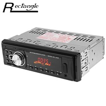 2038 Car Radio 12V Auto Audio Stereo MP3 Player FM SD AUX USB LED Digital In-Dash Charger with Remote Control