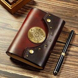 A7 A6 i viaggiatori Genuino notebook in pelle agenda ufficiale fatti a mano planner notebook diario dell'annata Mago libro