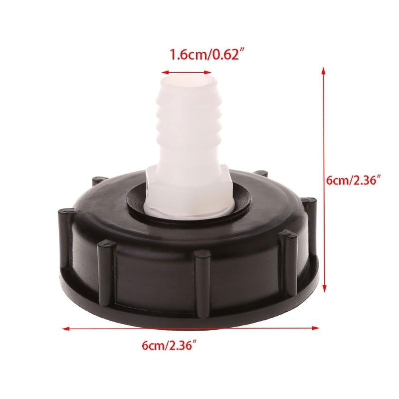 Hign Quality IBC Tote Tank Food Grade Drain Adapter 2.36