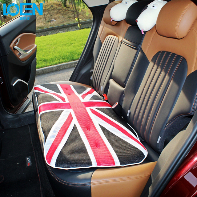 LOEN UK Flag Color Car Seat Protector Mat Auto Cushion Fit Most Vehicles Covers