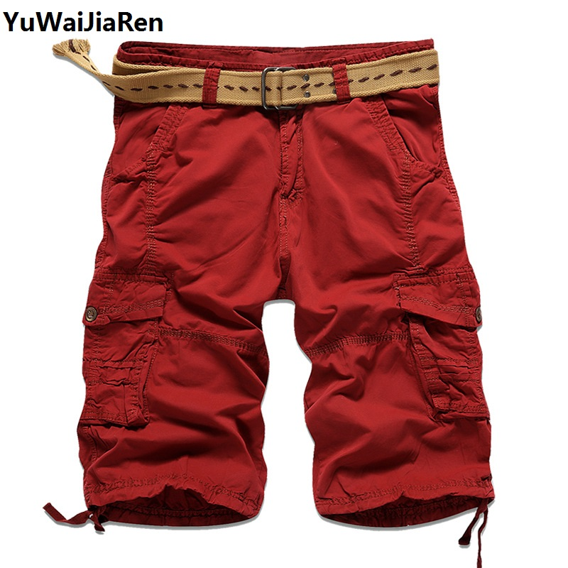 Popular Red Cargo Shorts-Buy Cheap Red Cargo Shorts lots from ...