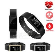 Новый N108 Smart Band 0.96 дюймов сердечного ритма Мониторы Приборы для измерения артериального давления часы-браслет с Фитнес трекер умный Браслет PK S1 S2 P1