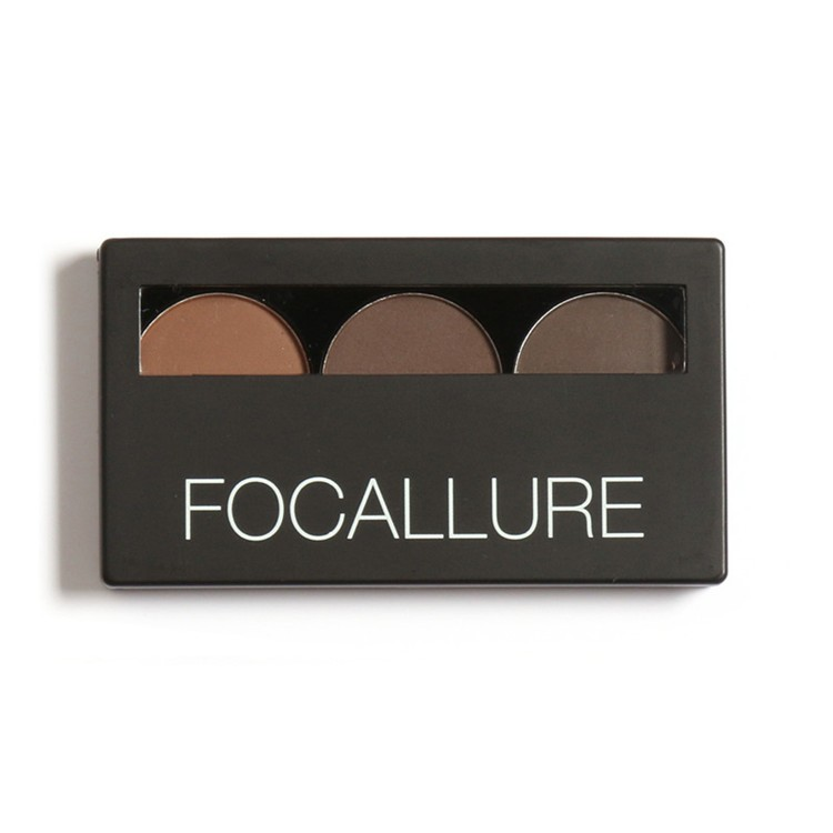 Focallure-Eyebrow-Powder-3-Colors-Eye-brow-Powder-Palette-Waterproof-and-Smudge-Proof-With-Mirror-and