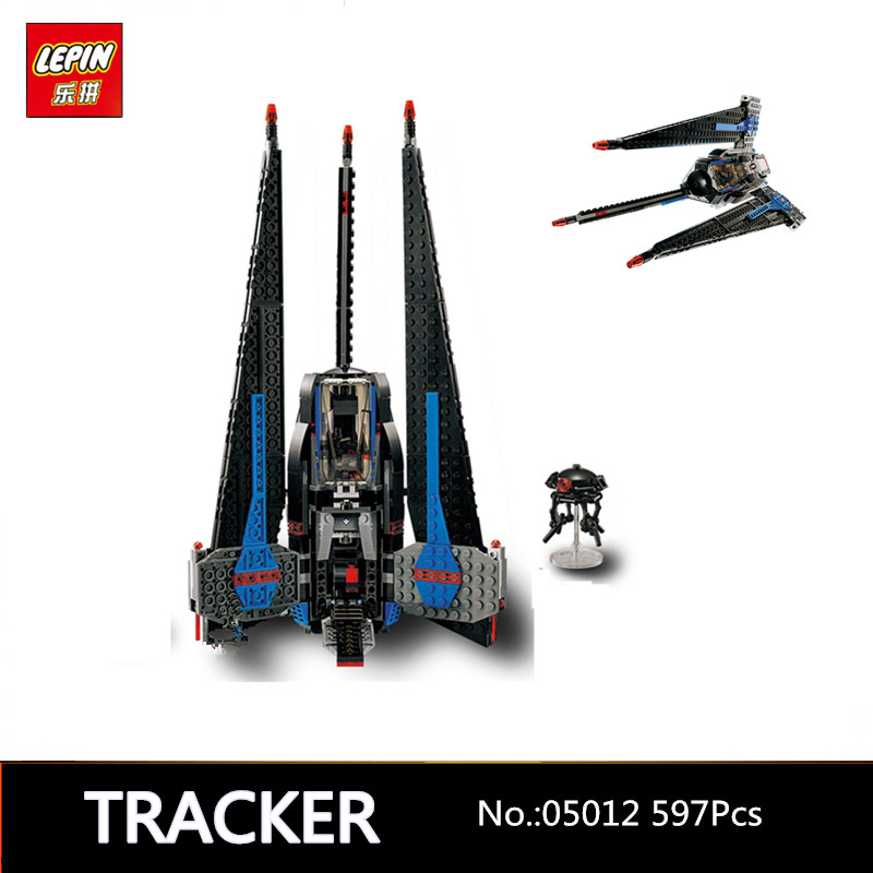IN STOCK 597pcs Lepin 05112 Star War Series Limited Edition Building Blocks Bricks Model Toys  Children Educational Gifts 7518 in stock lepin 02012 774pcs city series deepwater exploration vessel children educational building blocks bricks toys model gift