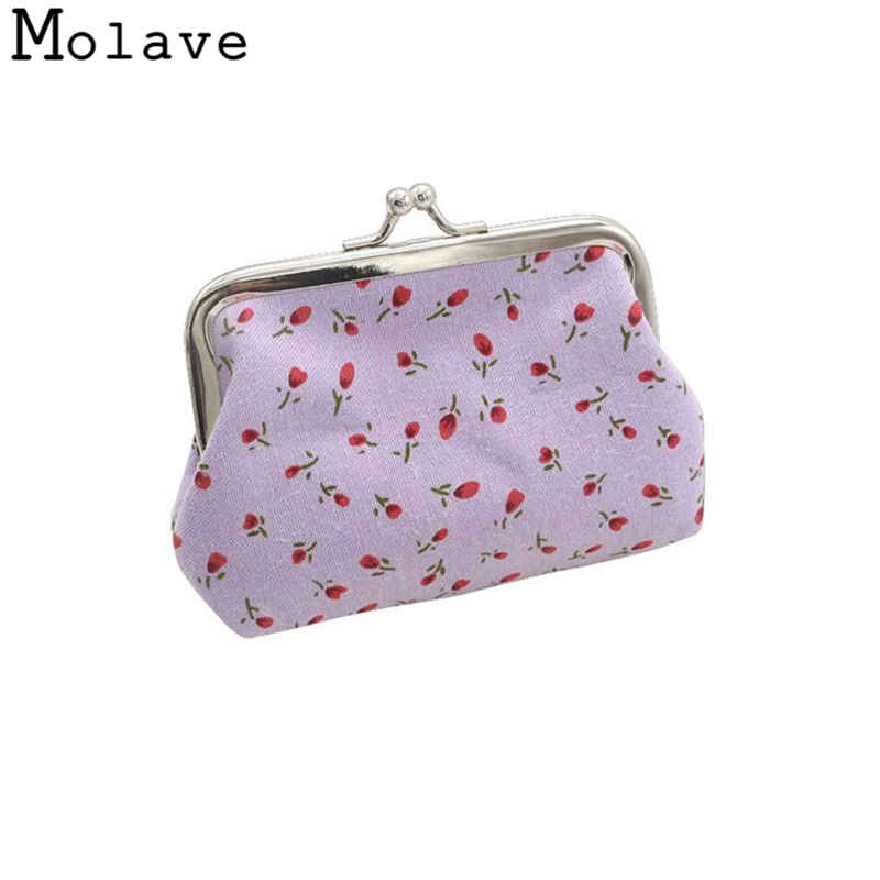 Naivety Fabric Coins Purses Cotton Flowers Printing Coin Purse Small Portable Hasp Wallet Bag 50S71213 drop shipping