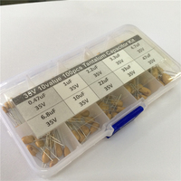 10values 100pcs 35V 0 47uF 1uF 2 2uF 3 3uF 4 7uF 6 8uF 10uF 22uF