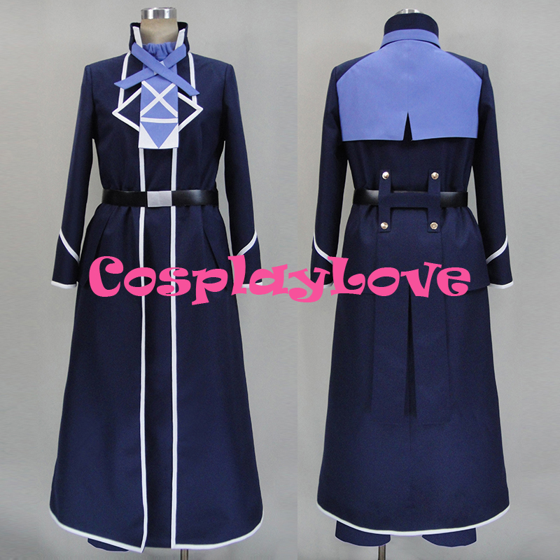 New Custom Made Japanese Anime Log Horizon 2 Shiroe Cosplay Costume For Halloween Christmas Birthday CosplayLove