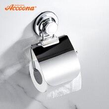 Accoona держатель для туалетной бумаги настенный держатель для туалетной бумаги держатель для ванной рулон бумаги с водонепроницаемой крышкой A11405