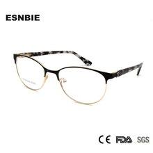 ESNBIE Luxury Design Eye Glasses Frames For Women Optical Eyeglasses Frame Diamond High Quality Prescription Eyewear feminino