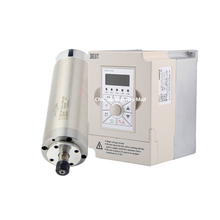 Water Cooled Spindle Motor 800W ER11 65*195 AC220V & 1.5kw VFD inverter variable frequency driver стоимость