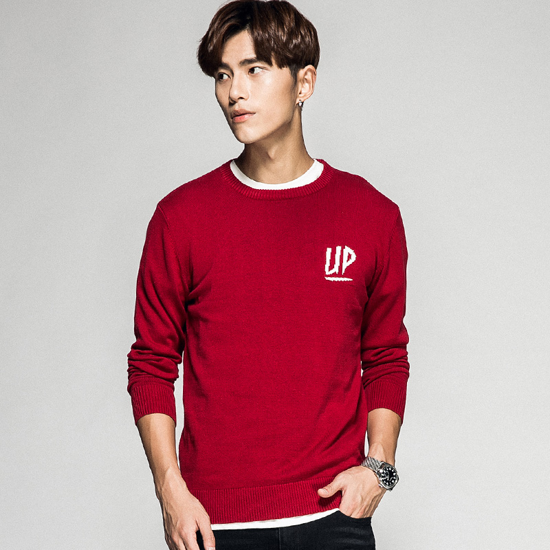 hip hop men's sweater M-3XL thin pullovers letter males jumper