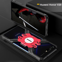 Huawei Honor View 20 case Luxury Shockproof Aluminum Metal protector Heavy Duty Armor case for Honor V20 cover Mate 20 Pro case