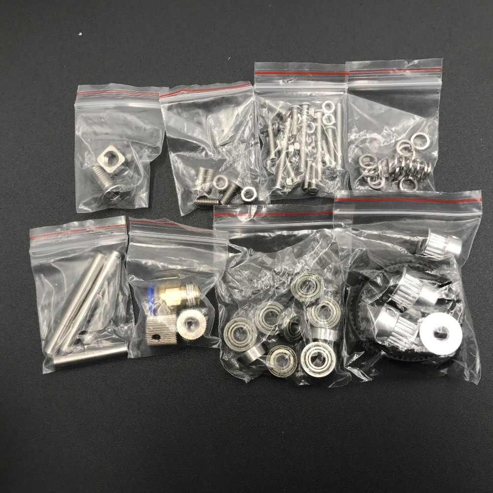 1Set  1.75mm/ 2.85/3MM  Belted Dual Drive two wheelStrong and Silent Bowden Extruder Screw Nut kit for DIY Reprap UM 3D printer1Set  1.75mm/ 2.85/3MM  Belted Dual Drive two wheelStrong and Silent Bowden Extruder Screw Nut kit for DIY Reprap UM 3D printer