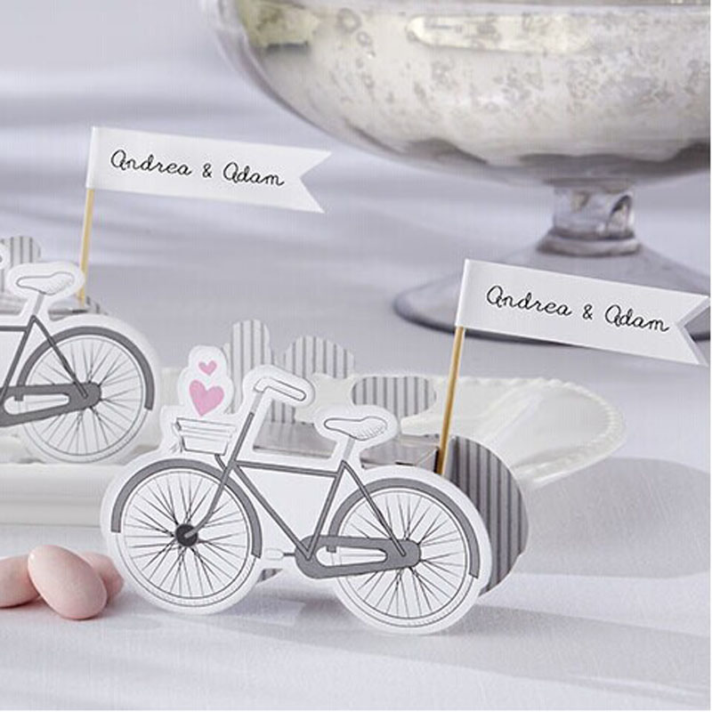 70pcs lot hot sale vintage inspired bicycle favor candy for 70 bike decoration