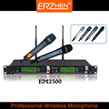 Горячая распродажа беспроводной микрофон профессиональная система беспроводной микрофон EM2500 высокое качество беспроводной микрофон