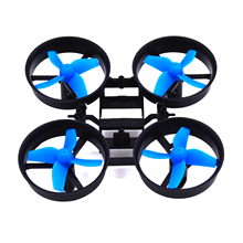 LHI RC Quadcopter Frame PK drones with camera hd mini drone diy and 4pcs Propellers Blue