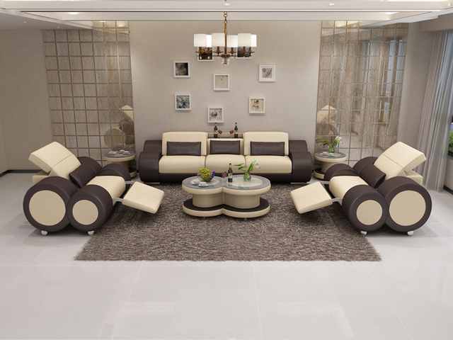 Latest Design Wood Frame Living Room Furniture New Model Sofa Sets
