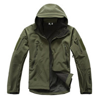 TAD V5 0 Lurker Shark Skin Army Military Tactical Jacket Soft Shell Waterproof Windbreaker Thick Warm
