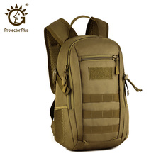 Protector Plus 12LยุทธวิธีMOLLEกระเป๋าเป้สะพายหลังกันน้ำเด็กกระเป๋าเป้สะพายหลังโรงเรียนกระเป๋าเด็กทหารRucksack Assault Pack