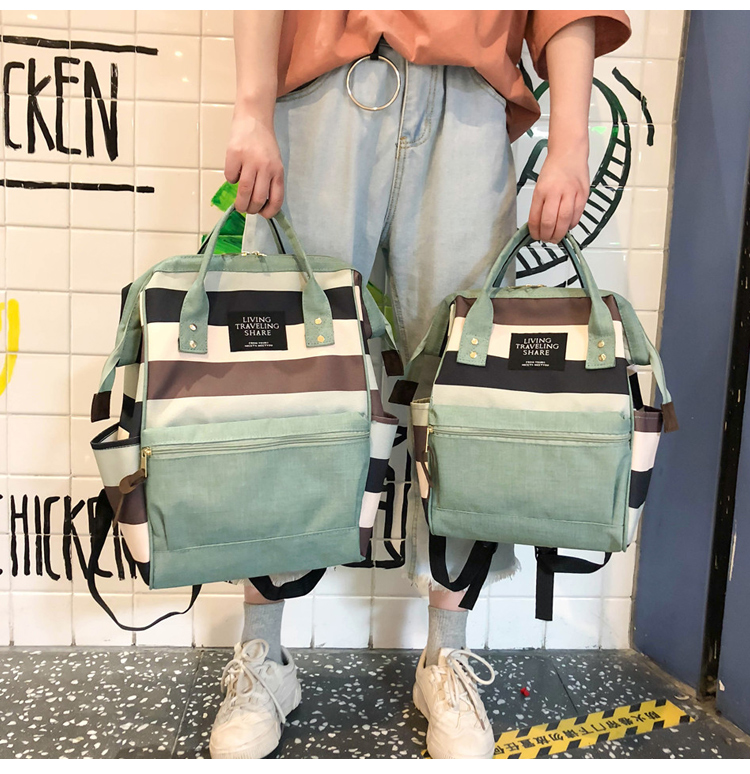 HTB1dE27UbvpK1RjSZPiq6zmwXXa0 2019 Korean Style Women Backpack Canvas Travel Bag Mini Shoulder Bag For Teenage Girl School Bag Bagpack Rucksack Knapsack