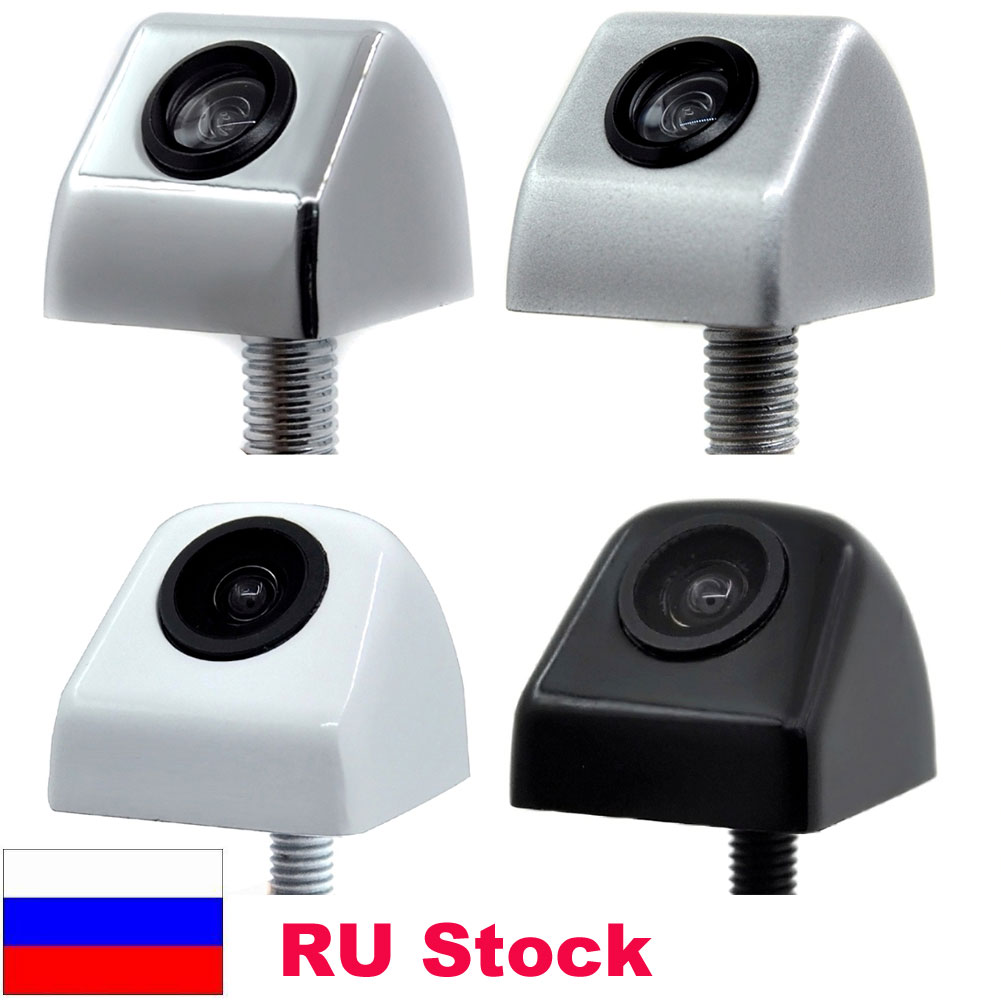 Pabrik dan Toko CCD HD Kaca Tahan Air Malam Visi 170 Derajat Sudut Lebar Luxur Kamera Belakang Mobil Reversing Kamera Cadangan