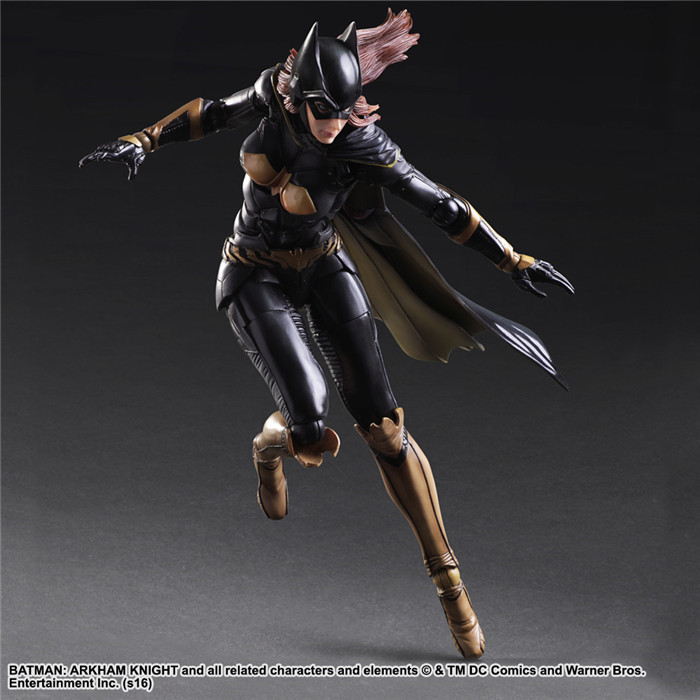 Anime PlayArts DC Justice league Batman Batwoman PVC Action Figure Collectible Model Toy Chirstmas Gift 25cm shfiguarts batman injustice ver pvc action figure collectible model toy 16cm kt1840
