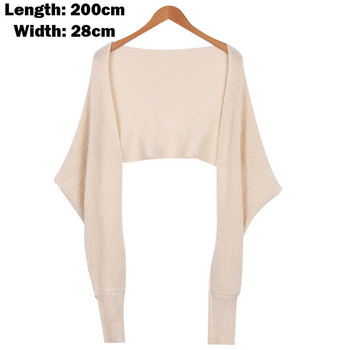 Sweater Women Convertible Multi Way Wrap Sweater Jumper Cardigan Casual Full Sleeve Short Sweater Women Knitwear Outwear Tops фото