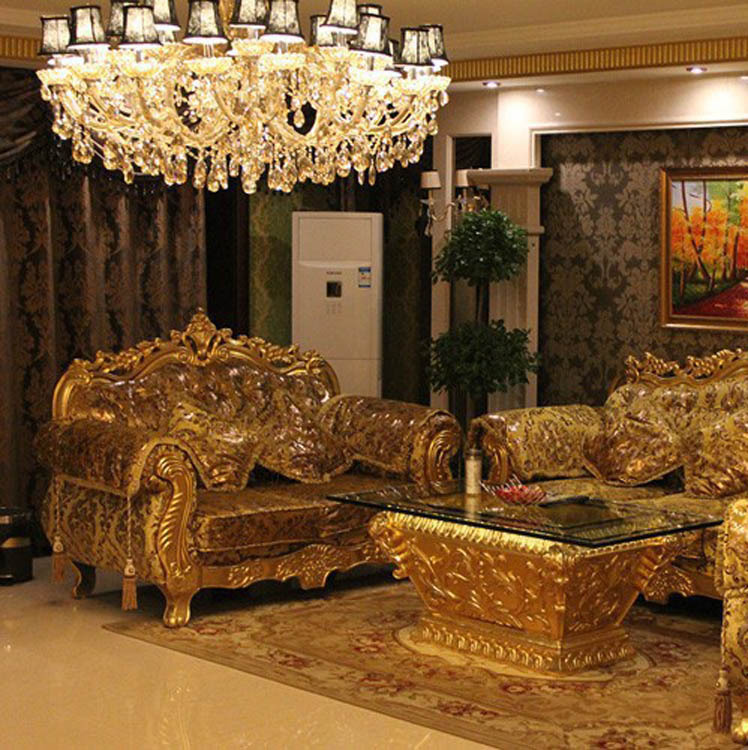 Aliexpress Super Deal Big Sale Luxury French Style 3 2 1 Sofa Set