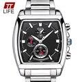 TTLIFE Luxo Marca Completa Aço Quartz Relógios De Pulso Dos Homens À Prova D' Água Luminosa Relógio Moda Homens de Negócios Dress Watch Relógios Masculinos