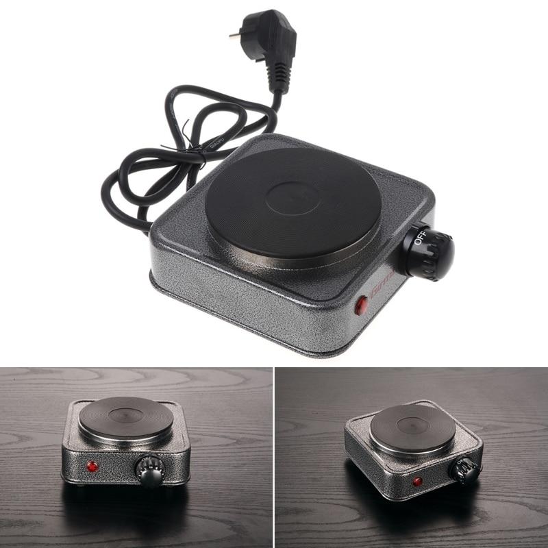 Электрическая мини-плита, плита для кофейного чая, 500 Вт, многофункциональный комплект бытовой техники, штепсельная вилка европейского стан...