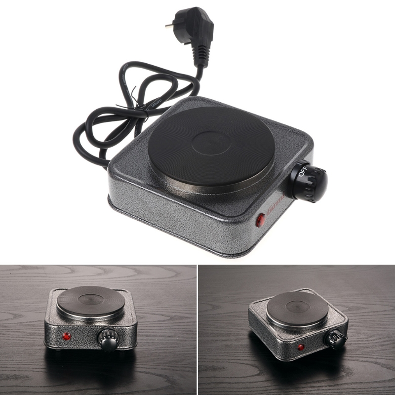 Mini Electric Stove Coffee Tea Heater Plate 500W Multifunctional Home Appliance Kit EU plug