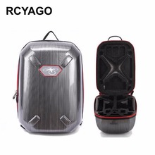 RCYAGO Brand DJI Drone Bag for Phantom 3 Phantom 4 PC Material Hardshell Backpack Drone Storage Package Waterproof Backpack