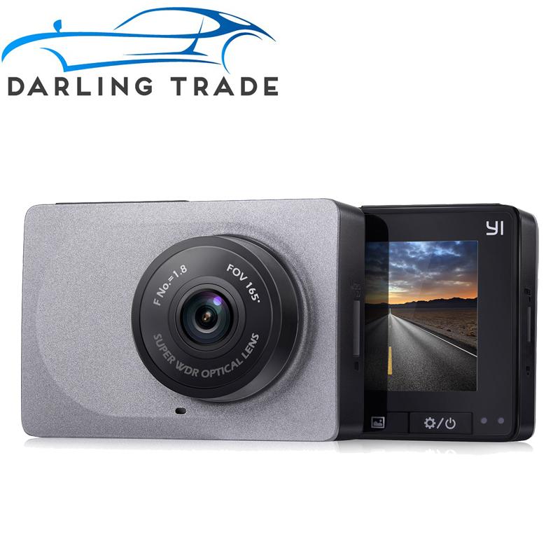 """Prix pour [Édition internationale] xiaomi yi smart voiture dvr 165 degrés 1080 p 60fps voiture détecteur 2.7 """"Dash Caméra ADAS Sûr Rappel Dashcam"""