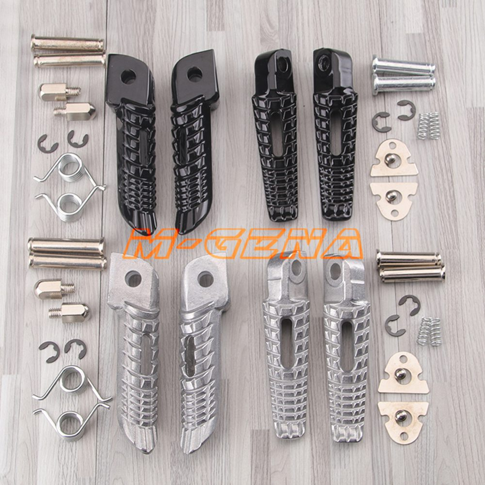 For Suzuki GSR400 GSR600 GSXR600 GSXR750 GSXR1000 GSX1300R GSXR1300 B-king Motorcycle Front Rear Footrests Foot Pegs