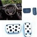 Metal anti-skid car pedal gas Brake pad foot rest cover accelerator for Toyota Corolla levin RAV4